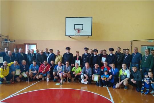 Волейбольный турнир памяти майора милиции В.Н.Сидорова