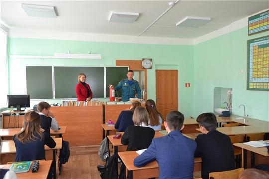 Месячник пожарной безопасности в образовательных  организациях Шемуршинского района