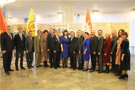 Делегация Шумерлинского района приняла участие в торжественном мероприятии, посвященном Дню местного самоуправления