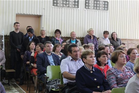 27 августа 2019 г. состоялась традиционная конференция работников образования Шумерлинского района.