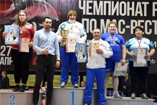 Разыграны медали чемпионата России по мас-рестлингу