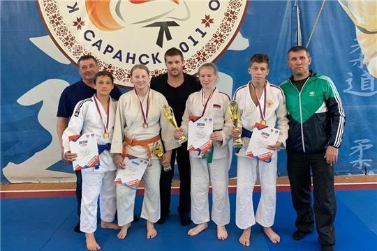 5 медалей завоевала сборная Чувашии на II этапе Спартакиады учащихся России по дзюдо