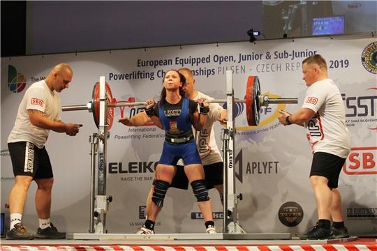 Спортсмены Чувашии достойно выступили на чемпионате и первенстве Европы по пауэрлифтингу