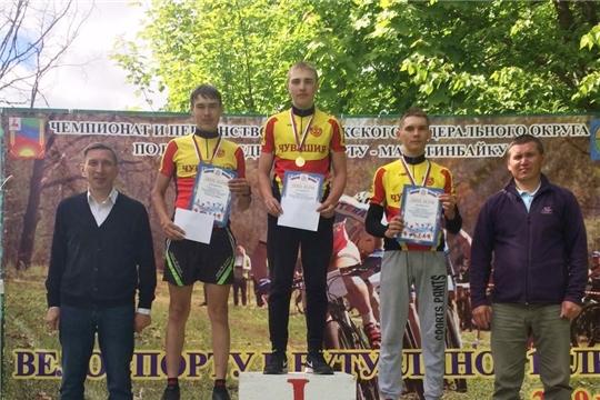 Сборная Чувашии достойно выступила на чемпионате и первенстве Поволжья по маунтинбайку