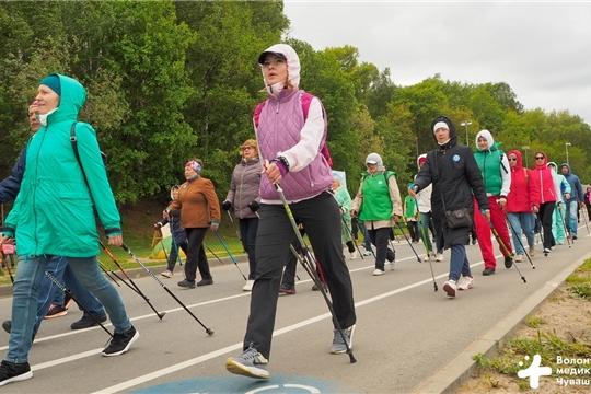 В столице Чувашии прошёл Фестиваль северной ходьбы