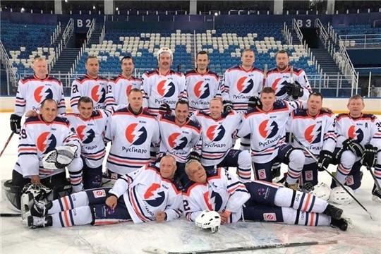 Команда Чебоксарской ГЭС - призёр Объединенной корпоративной хоккейной лиги «Трудовые резервы»