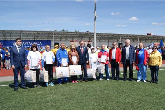 Спортивное долголетие: в Цивильске прошел региональный этап спартакиады пенсионеров