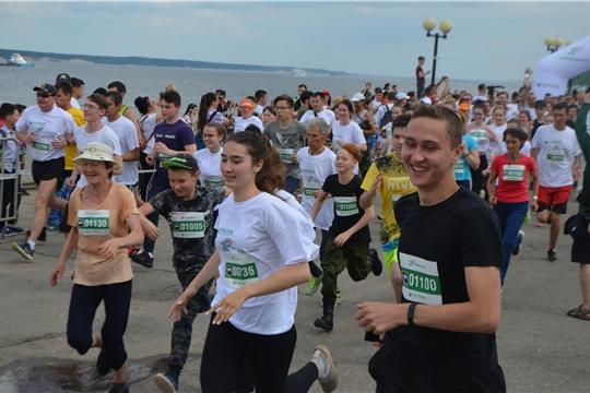 1 июня в Чебоксарах прошел «Зеленый марафон»
