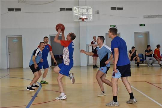 Спартакиада госслужащих Чувашии в разгаре: начались баскетбольные баталии