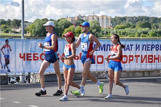 В Чебоксарах стартовали чемпионат и первенство России по спортивной ходьбе