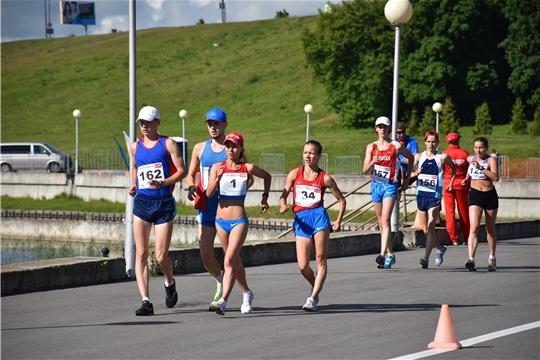 Чемпионат России по спортивной ходьбе в Чебоксарах. 50 км