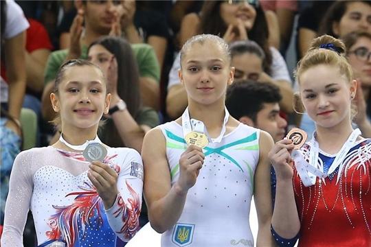 Чебоксарская гимнастка Дарья Белоусова завоевала «бронзу» в международных соревнованиях в Южной Корее