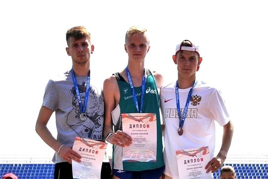 4 медали завоевали легкоатлеты Чувашии на юниорском первенстве России