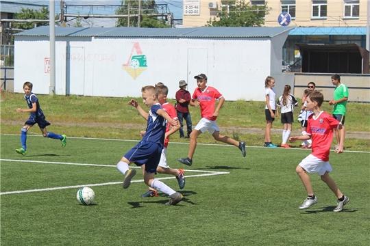 Продолжается региональный этап Всероссийского фестиваля детского дворового футбола