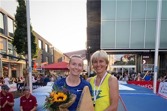 Анжелика Сидорова стала второй на этапе «Бриллиантовой лиги» в Швейцарии