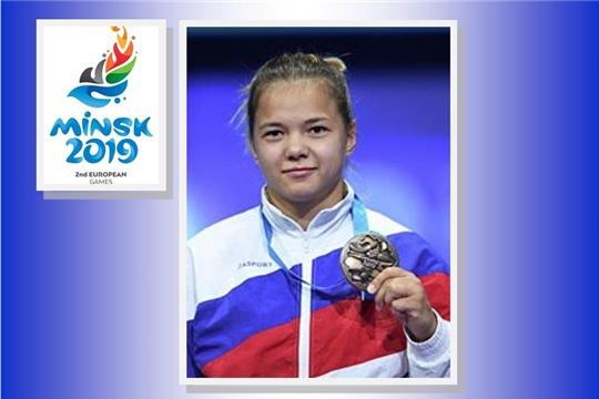 Благодарность от руководства Федерации спортивной борьбы России за подготовку призёра Европейских игр