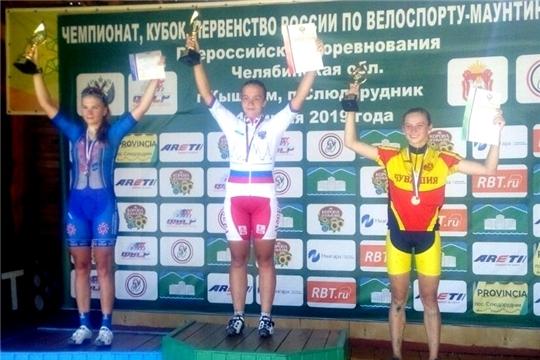 Валерия Орлова выиграла «бронзу» на первенстве России по маунтинбайку в гонке кросс-кантри