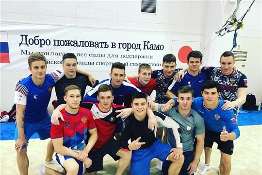 Владислав Поляшов в составе национальной сборной по спортивной гимнастике выехал на тренировочные сборы в Японию