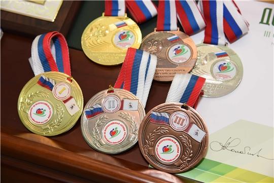 Спортсмены Чувашии завоевали первые медали на проходящей в Йошкар-Оле Всероссийской летней Спартакиаде инвалидов