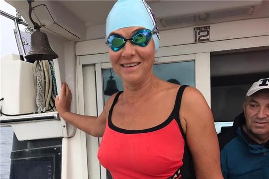 Чебоксарка Татьяна Александрова успешно преодолела первый этап российско-японского заплыва через пролив Лаперуза