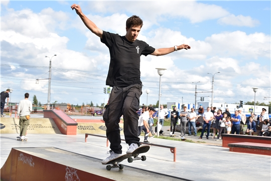 В столице Чувашии прошел 3-ий этап Кубка России по скейтбордингу