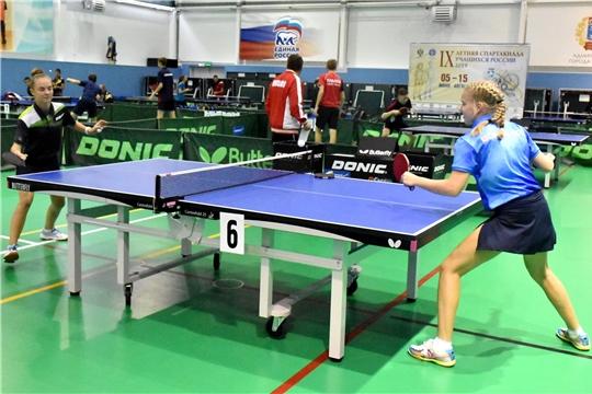Стартовал финальный этап IX летней Спартакиады учащихся России по настольному теннису