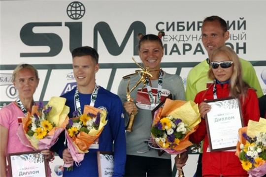 Легкоатлетки Алина Прокопьева и Татьяна Арясова – призеры Сибирского марафона