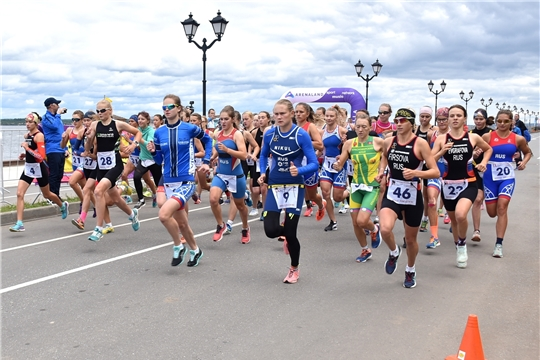 Столица Чувашии принимает финалистов IX летней Спартакиады учащихся России по триатлону