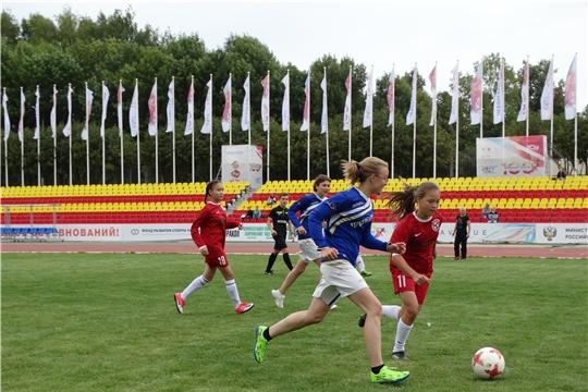 В День физкультурника в Чувашии состоялся финал регионального этапа Всероссийского фестиваля детского дворового футбола