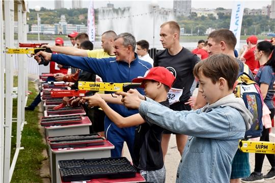 «Спорт для всех»: в столице Чувашии проходит Всемирный городской тур по лазер-рану