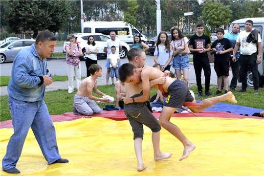 Продолжаются спортивные мероприятия в рамках празднования 550-летия г.Чебоксары