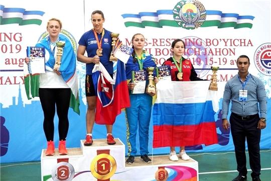 Алина Алексеева – призер II этапа Кубка мира по мас-рестлингу
