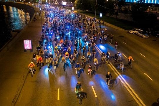 Любители спорта отпразднуют 550-летие города Чебоксары ночным велопробегом