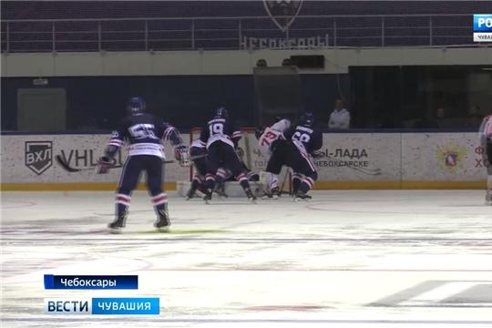 Чебоксарские хоккеисты одержали победу над китайскими коллегами