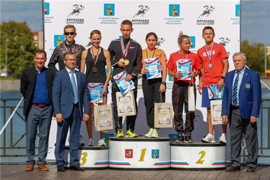 Скороходы Кирилл Фролов и Марина Новикова отличились на «Кубке Вороново»