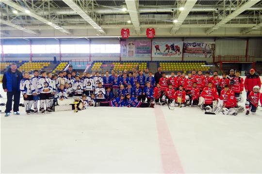 ХК «Сокол-2008» - серебряный призер хоккейного турнира, посвященного Дню города Новочебоксарска