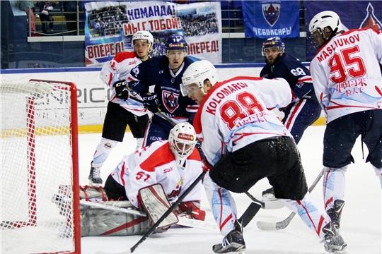 Завершился розыгрыш Кубка Главы Чувашии по хоккею