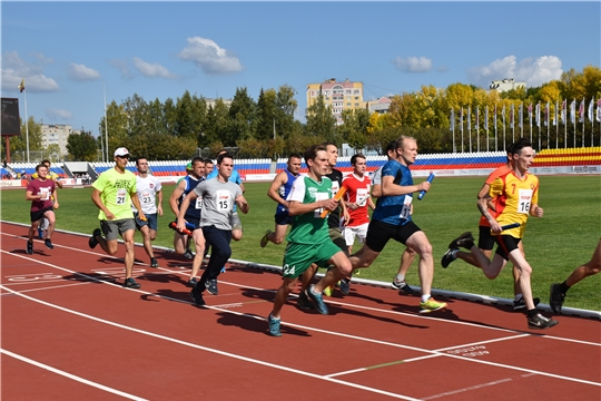 На стадионе «Олимпийский» состоялась 81-я легкоатлетическая эстафета газеты «Советская Чувашия»