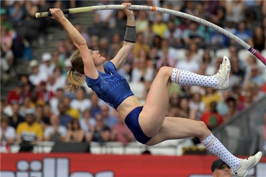 Прыгунья с шестом Анжелика Сидорова стала второй в финале Бриллиантовой лиги