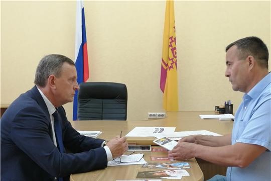 Михаил Богаратов провёл прием граждан по личным вопросам