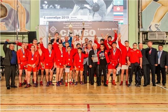 Самбисты Чувашии достойно выступили на международном юношеском фестивале в Москве