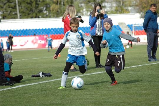 Финал детского футбольного турнира «Кубок Союза Труда»