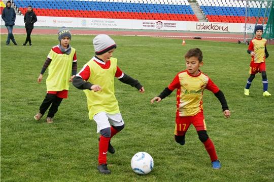 Юные футболисты разыграли награды турнира «Кубок Союза Труда»