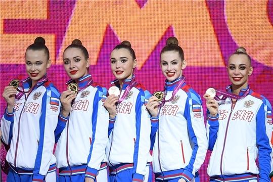 Евгения Леванова стала пятикратной чемпионкой мира по художественной гимнастике