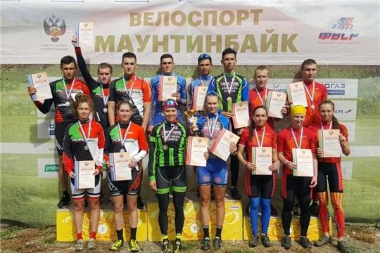 Воспитанники чувашской школы велоспорта отличились на чемпионате России