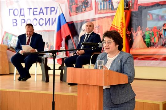 Марина Кадилова приняла участие в совещании по подведению итогов развития Ибресинского района за I полугодие 2019 года