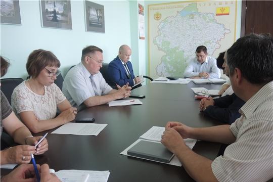 Вопросы вывоза ТКО в Козловском районе обсуждены на совещании в Минстрое Чувашии