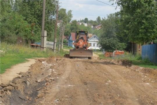Начат ремонт грунтовой дороги в Арабосинском сельском поселении