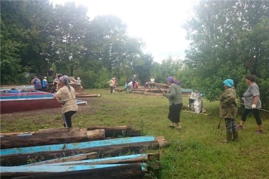 Благоустройство территории села Батеево