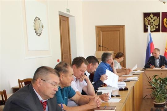 Урмарский район: вопросы обеспечения безопасности дорожного движения обсуждены на заседании районной комиссии